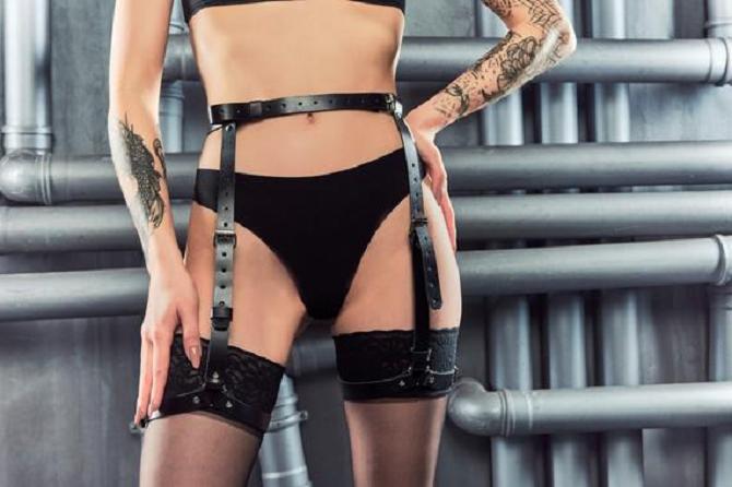 body harnesses fetish wear